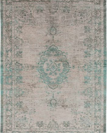 vloerkleed Louis De Poortere CS 8259 Fading World Medaillon Jade Oyster