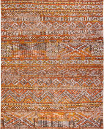 Louis De Poortere vloerkleed CS 9111 Antiquarian Kilim Riad Orange