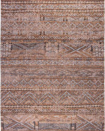 Louis De Poortere vloerkleed CS 9112 Antiquarian Kilim Agdal Brown